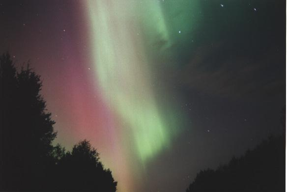 Aurora photo - 13 Aug 2000, Alberta, Canada