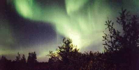 Aurora photo - 26 Aug 1996, Manitoba